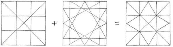 九宫格在建筑设计平面图中的应用|商场设计|购物中心